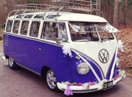 Splitscreen Campervan for weddings in Basingstoke